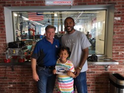 Five Lugs with Chip Foose